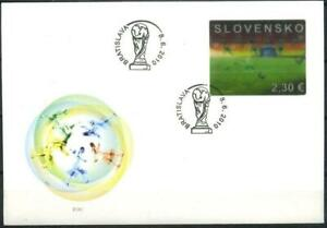 Slovakia 2010 Sport, Soccer, Football, World Cup in South Africa FDC