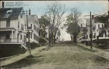 Somersworth NH Highland St. Homes c1910 Postcard
