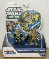Playskool Heroes Star Wars Jedi Force General Grievous & Battle Droid Hasbro New