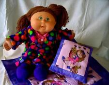 Bedtime Doll Clothes SEWING PATTERNS to suit 16 inch Cabbage Patch Kids