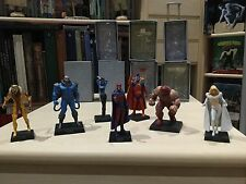 Figurines Eaglemoss Marvel XMen Magnéto Apocalypse Juggernaut Sabretooth..