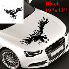 """Car Front Engine Hood Roof Decal 19""""x13"""" Flying Eagle Sticker For SUV Trunk Boat"""