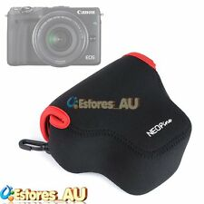 Neoprene Soft Camera Protective Case Bag Pouch Cover For Canon EOS M3 Black