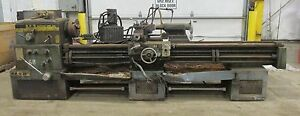 H.E.S HES Machine Tool Inc. 20 Inch Metal Lathe 220/440  3 Phase 12 HP  70812INK