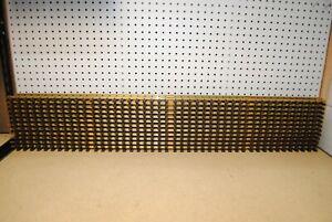 LGB 10610 (1061) x 12 Brass Straight Track 1200mm *G-Scale* NEW