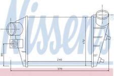 INTERCOOLER Nuovo di zecca per ALFA ROMEO 96698 NISSENS alta qualità