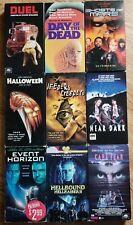 Lot Of 9 Horror VHS... Near Dark, Halloween, Duel & More!
