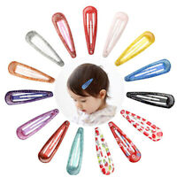15 Mollette Fermagli Capelli Clip Accessori Capelli per Ragazza Bambina Colorat^