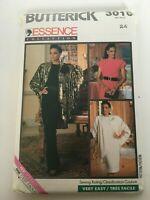 Butterick Essence Collection Sewing Pattern Jacket Dress 3010 Very Easy Size 24
