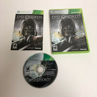 Dishonored Xbox 360 Complete CIB Tested Microsoft