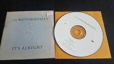 The Motorhomes – It's Alright CD Single