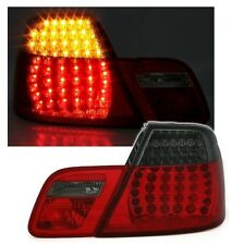 2 FEUX ARRIERE LED BMW SERIE 3 E46 COUPE PHASE 1 DE 04/1999 A 03/2003 ROUGE NOIR