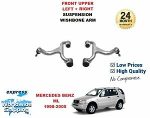 FOR MERCEDES ML W163 2X FRONT UPPER SUSPENSION ARM A1633330101 A1633330010