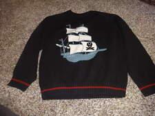 GYMBOREE BOYS S 5-6 PIRATE SHIP SWEATER