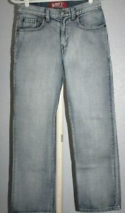 Levis 514    Denim jeans  Slim  Straight   BOYS    size 14 reg    27 x 27