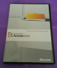 MICROSOFT ACCESS 2003 UPGRADE CD VERSION FOR WINDOWS RETAIL WITH PRODUCT KEY