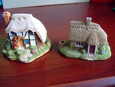 STRAWBERRY COTTAGE & DAISY COTTAGE LILLIPUT LANE MODELS