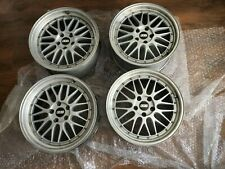 """BBS style alloy wheels 19"""" inches staggered set (8.5J and 9.5J) BMW fit"""