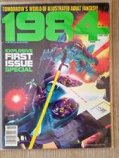 1984 #1, June 1978. Wally Wood, Richard Corben, Bill DuBay. Warren magazine NM-
