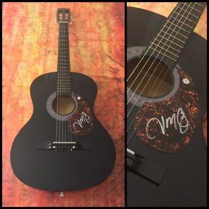 GFA Alyssa Lies Country JASON MICHAEL CAROLL Signed Acoustic Guitar J2 COA