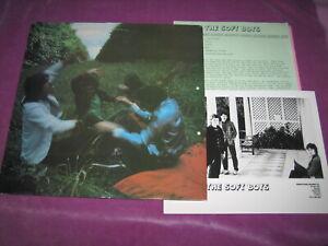 SOFT BOYS - INVISIBLE HITS - MIDNIGHT UK 1983 ORIG PROMO w/ PRESS KIT & PHOTO