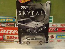 HOT WHEELS 1:64 007 SKYFALL 1963 SILVER ASTON MARTIN DB5, 4/5, CGB79