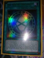 LC03-EN001 THE SEAL OF ORICHALCOS Ultra Rare Limited Edition YuGiOh Card