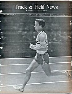 1969 Track and Field News George Young Indoor Championships 3M WR Marty Liquori