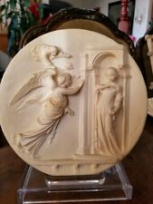 """8.5 Alabaster Plate Studio Dante di Volteradici """"Le Porte Del Ghiberti�"""