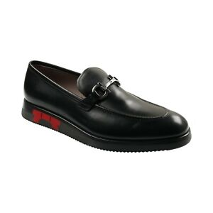 "Salvatore Ferragamo Men's Dress Shoes ""Atlanta"" Loafers Buckle Limited Edition"