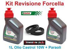 047 - Kit Castrol Fork Oil 10W + Paraoli per Forcella HONDA CBR 600 RR dal 2005