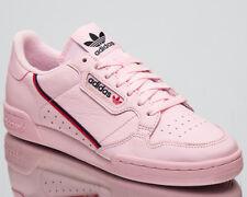 Adidas Originals Continental Nuevo Hombre Lifestyle Zapatos Rosa Claro Escarlata