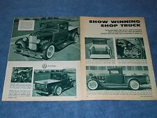 "Alexander Brothers Custom 1932 Ford Truck ""Show Winning Shop Truck"""