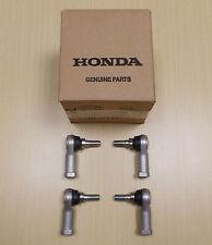 New 1988-2000 Honda TRX 300 TRX300 TRX300FW ATV OE Set of 4 Tie Rod Ends