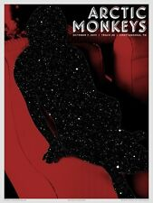Arctic Monkeys Poster 10/7/2013 Track 29 Chattanooga TN Signed & Numbered #18/25