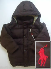 NWOT Polo Ralph Lauren Hooded Down Puffer Jacket Size 4/4T
