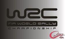 PEGATINA STICKER WRC WORLD RALLY CHAMPIONSHIP aufkleber autocollant vinyl vinilo