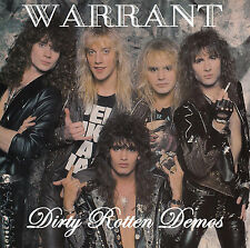 Warrant Dirty Rotten Demos CD