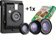 Lomography Lomo'Instant Black : 3 lenses + 1 Fujifilm cartridge