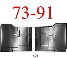 "73 91 Chevy Blazer Rear Floor Pan Set Under Rear Seat, GMC Jimmy Huge 38"" x 30"""