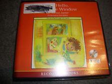 AUDIOBOOK   'The Hello, Goodbye Window'~ By Norton Juster  1 CD Set  Ex-Lib  C2