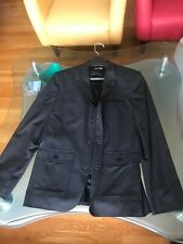 Calvin Klein Charcoal Gray Sport Jackets with Zip- Up Size Small