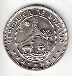 BOLIVIA 50 CENTS 1939 STANDARD        7G      BY COINMOUNTAIN
