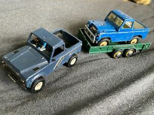 Britain's Land Rover & Trailer 1:32 Farm Vehicles Scalextric Props Unboxed