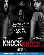 KNOCK KNOCK  LTD   BLU-RAY+BOOKLET    HORROR