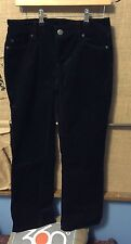 J.Crew 4S Favorite Fit Women's Black Corduroy pants