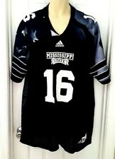 Mississippi State Bulldogs Jersey Size Large Military Appreciation Adidas Black