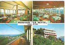 "S. BERNARDO di Sestri Levante ( Genova )  -  Ristorante Bar  "" LA VETTA """