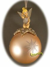 Disneyland Paris - Christmas Ornament Tinkerbell + Map of the 2 parks