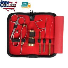 Outdoor Sport Hunting Tools  Fly Fishing Tying Tools Gear Assortment fly tying